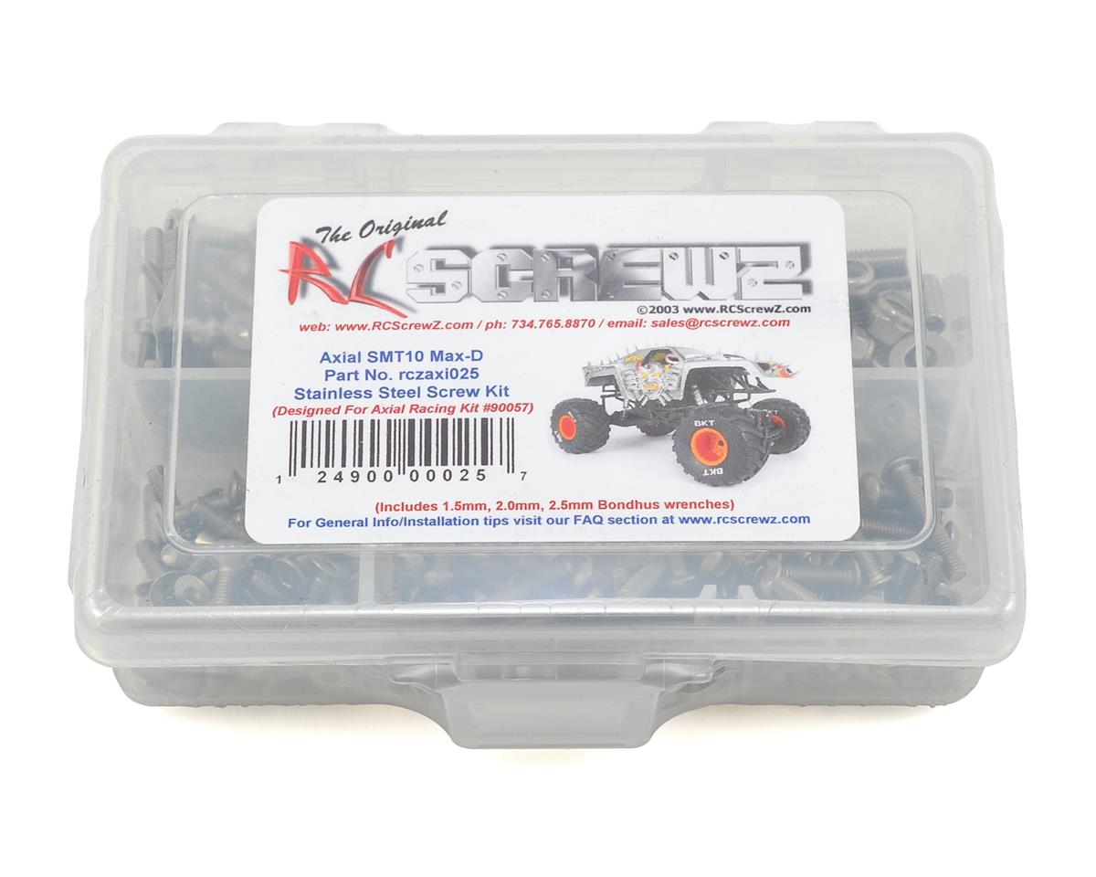RC Screwz Axial SMT10 Max-D Stainless Screw Kit