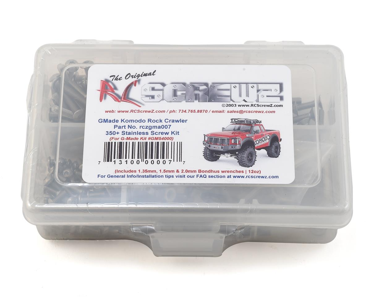 GMade Komodo Stainless Steel Screw Kit by RC Screwz