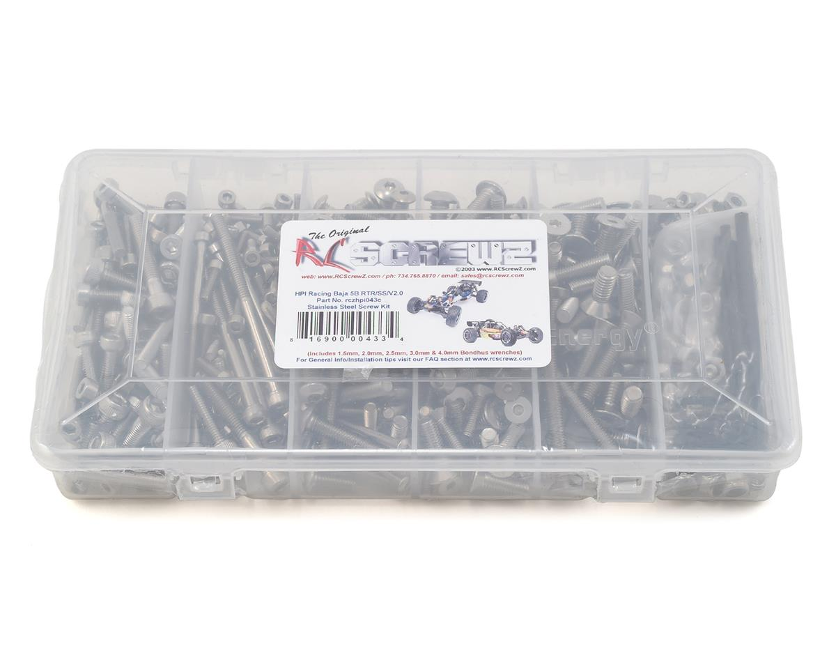 RC Screwz HPI Racing Baja SS Stainless Steel Screw Kit