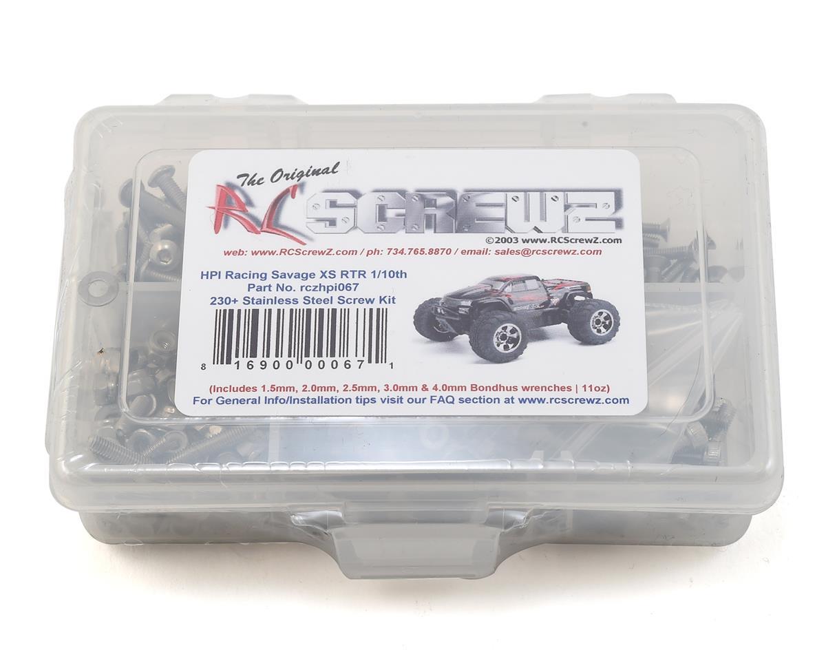 RC Screwz HPI Racing Savage XS Stainless Steel Screw Kit
