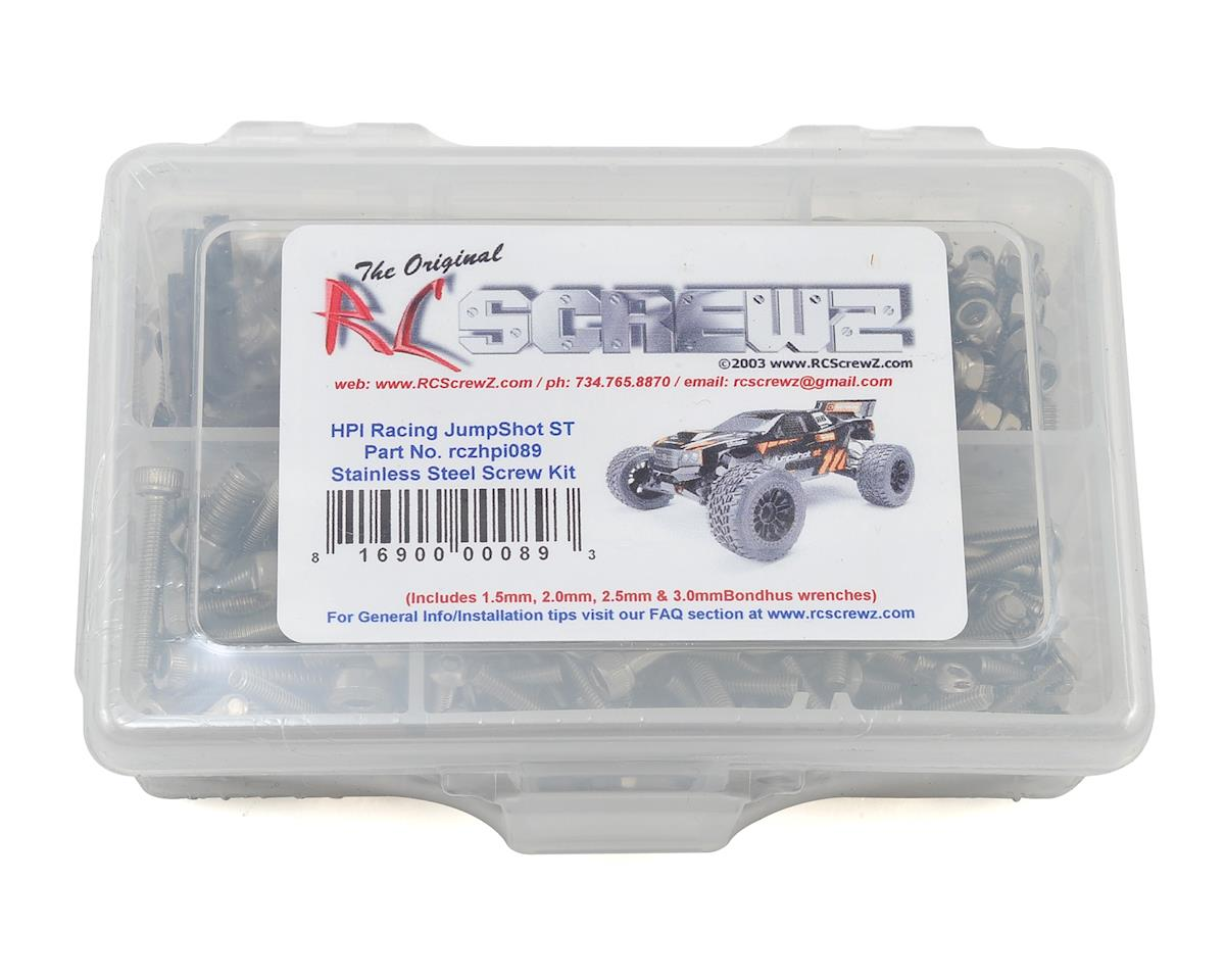 HPI Jumpshot ST Stainless Steel Screw Kit by RC Screwz