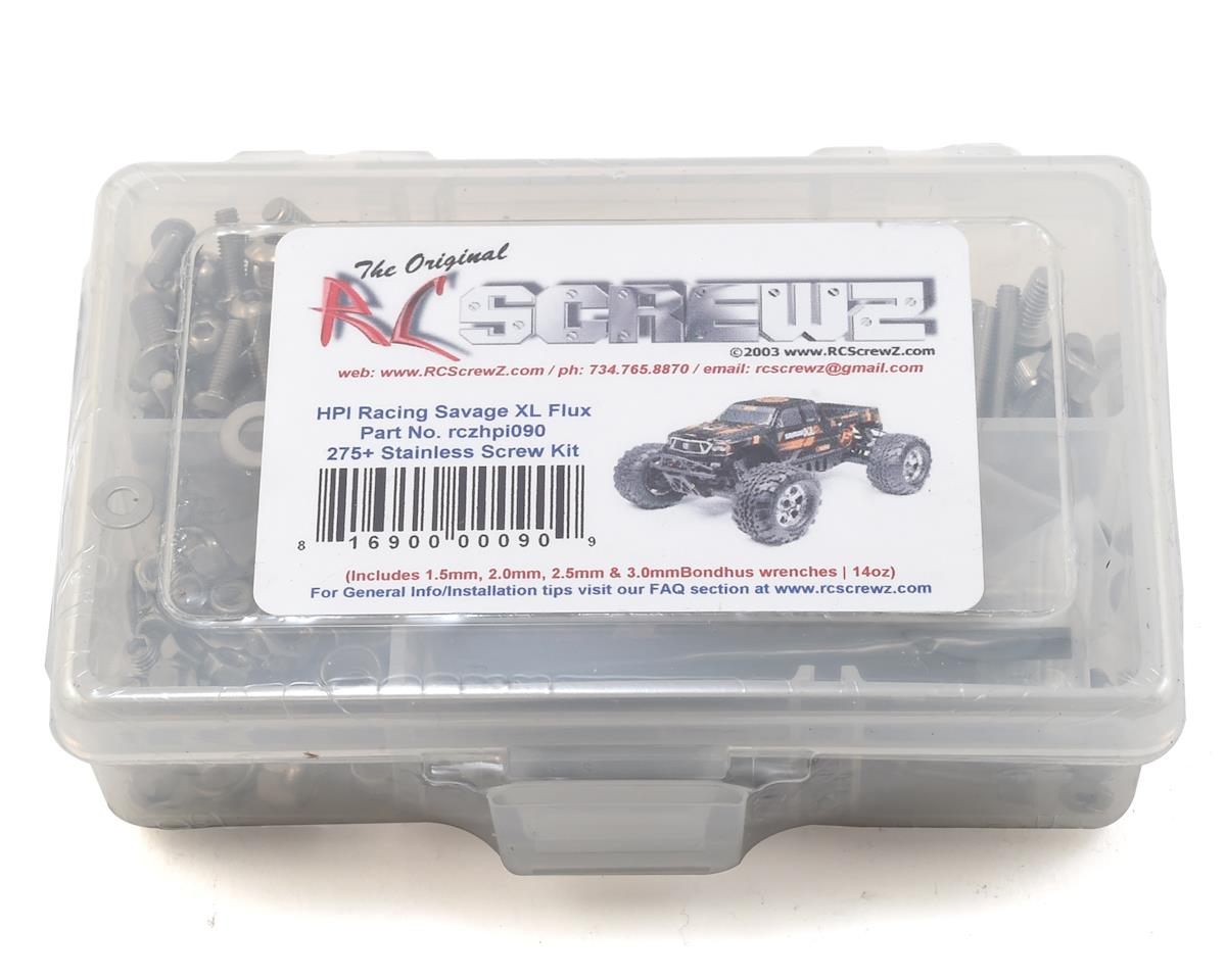 RC Screwz HPI Savage XL Flux Stainless Steel Screw Kit