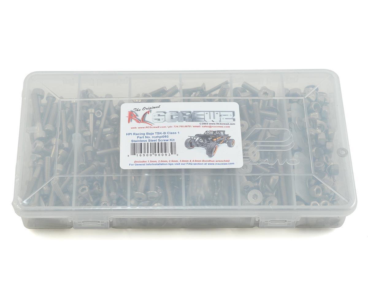RC Screwz HPI Baja Kraken TSK-B Stainless Steel Screw Kit