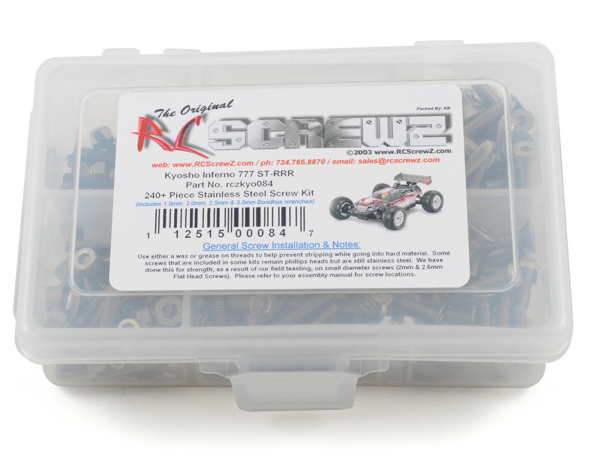 Kyosho Inferno ST-RR Stainless Steel Screw Kit by RC Screwz