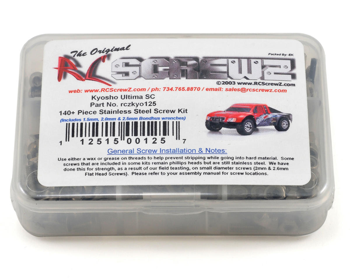 RC Screwz Kyosho Ultima SC Truck Stainless Steel Screw Kit