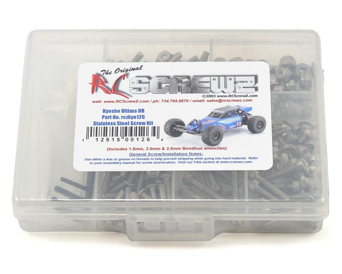 RC Screwz Kyosho Ultima DB Stainless Steel Screw Kit