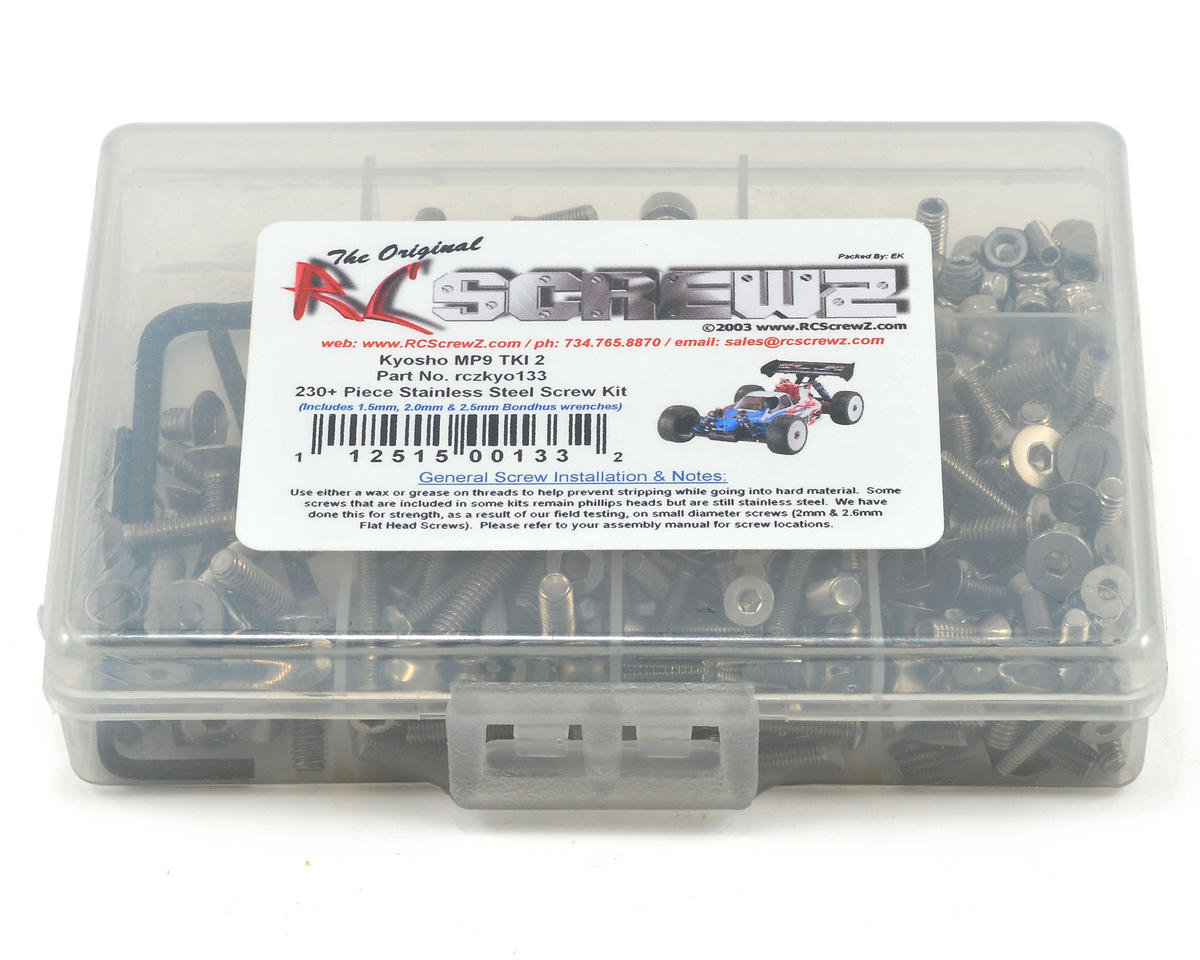 RC Screwz Kyosho Inferno TKI/TKI2 Stainless Steel Screw Kit