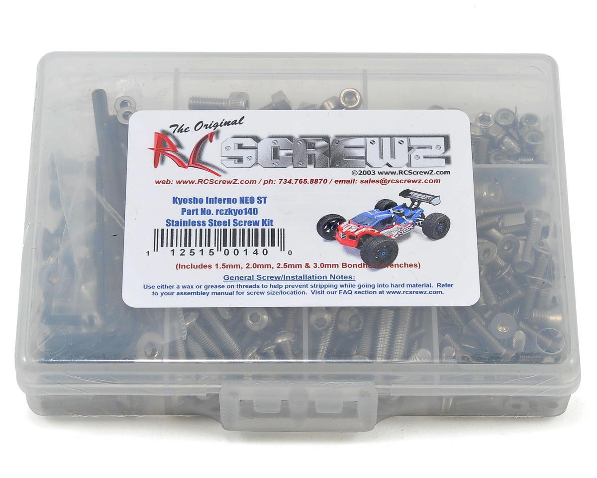 Kyosho Inferno NEO ST Stainless Steel Screw Kit by RC Screwz