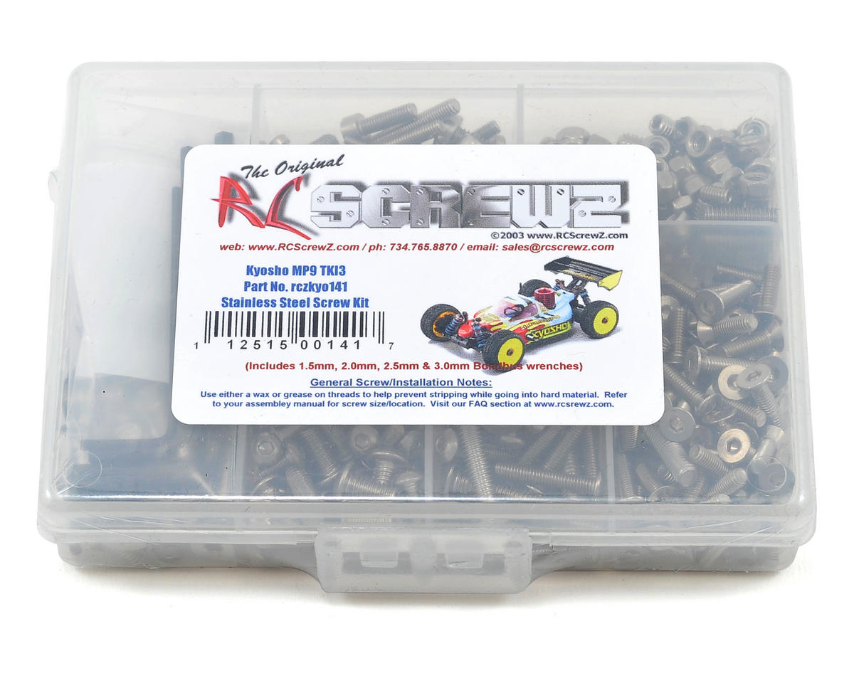 Kyosho MP9 TKI3 Buggy Stainless Steel Screw Kit