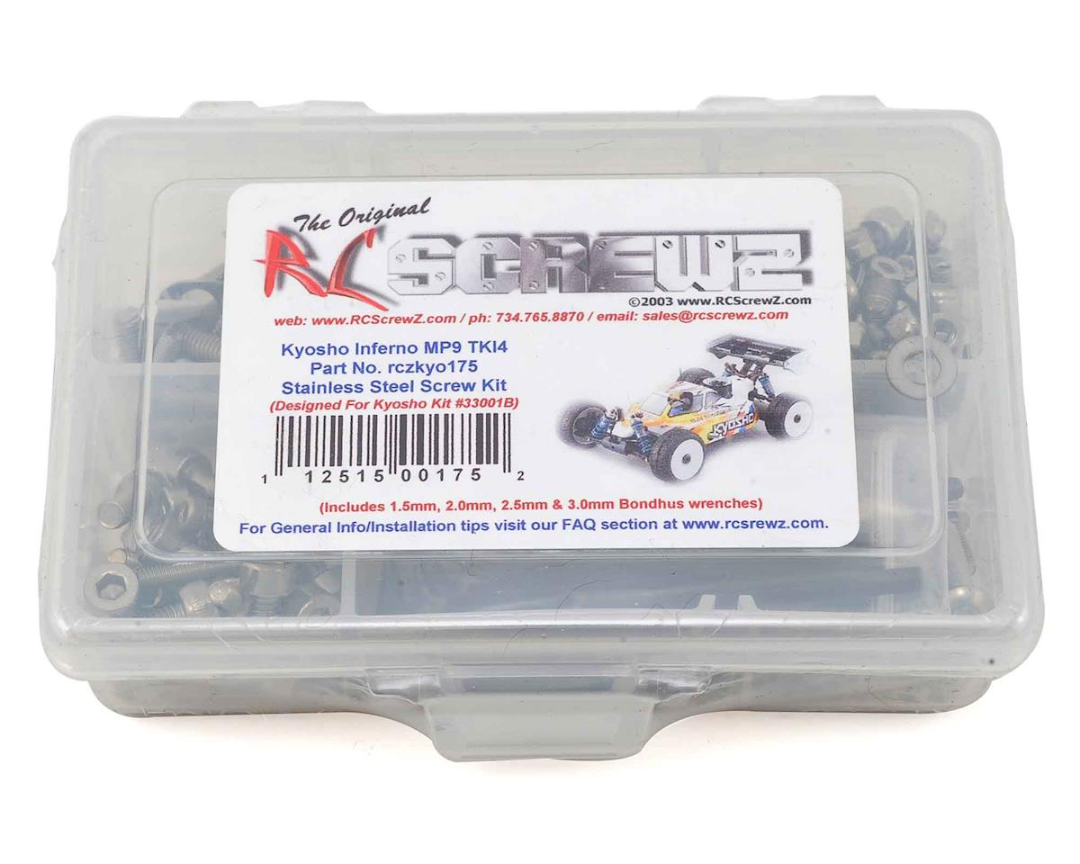 RC Screwz Kyosho MP9 TKI4 Stainless Screw Kit