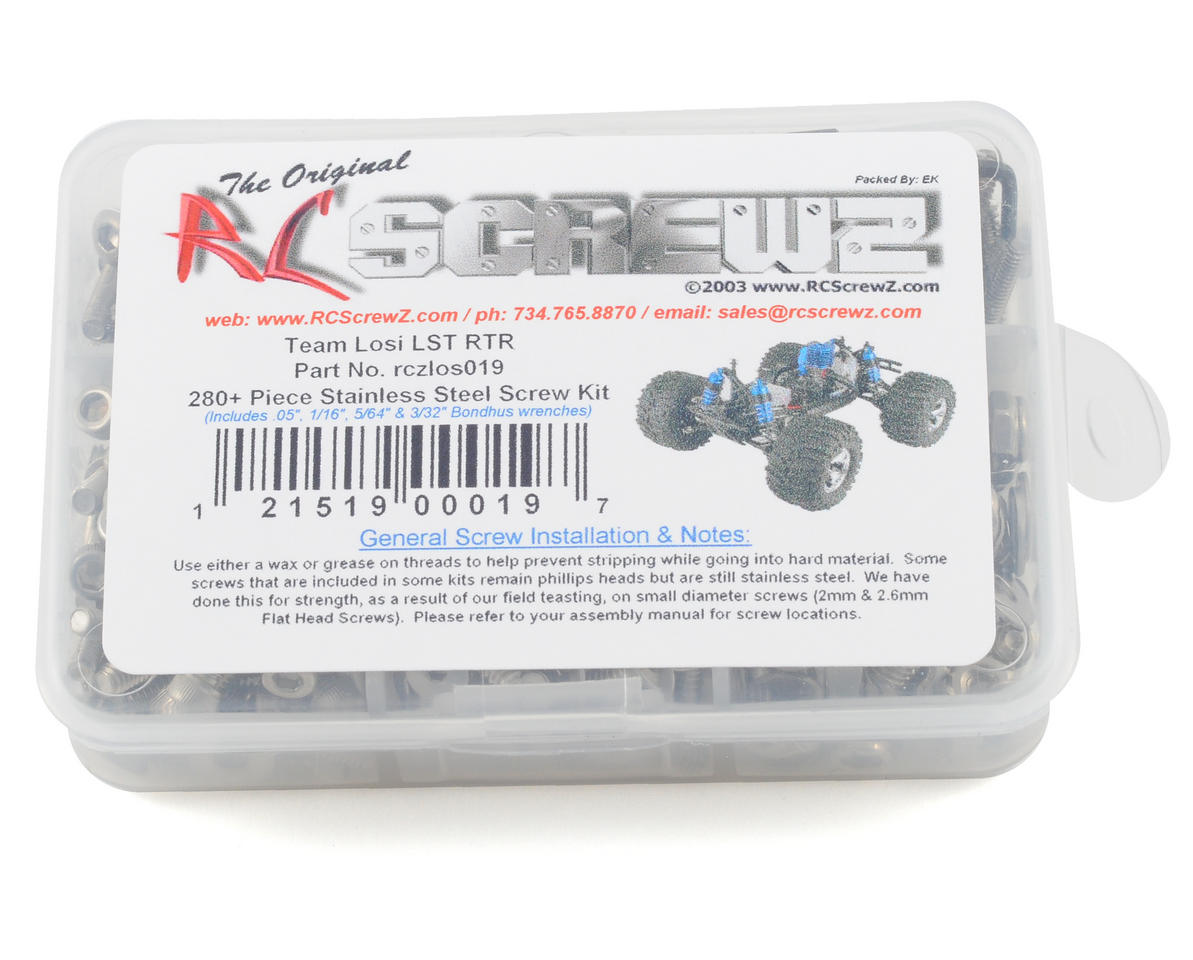 RC Screwz Team Losi LST Super Truck Stainless Steel Screw Set