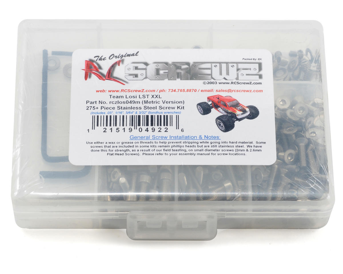 RC Screwz Team Losi LST XXL (Metric Version) Stainless Steel Screw Kit