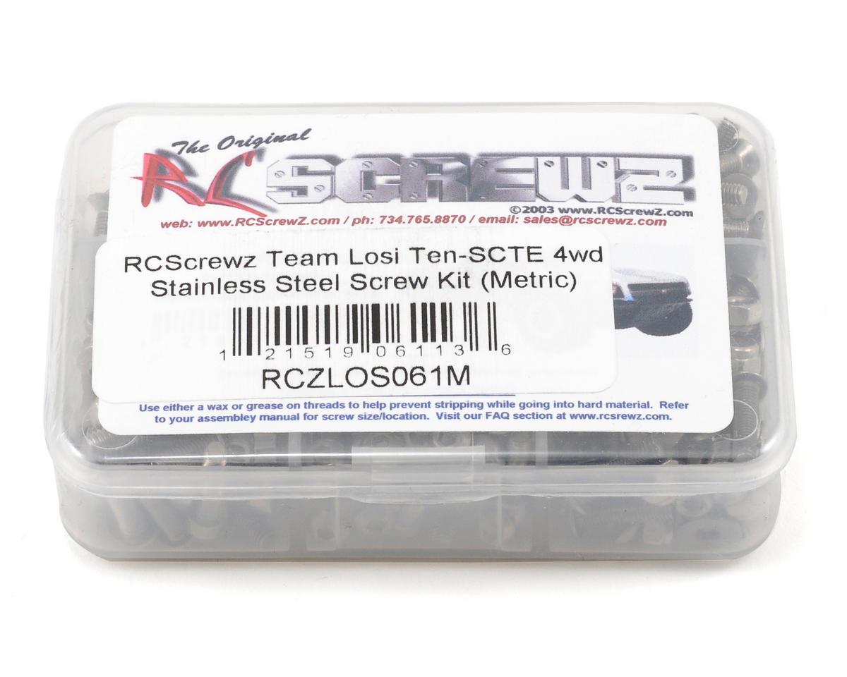 Team Losi Ten-SCTE Stainless Steel Screw Kit (Metric)