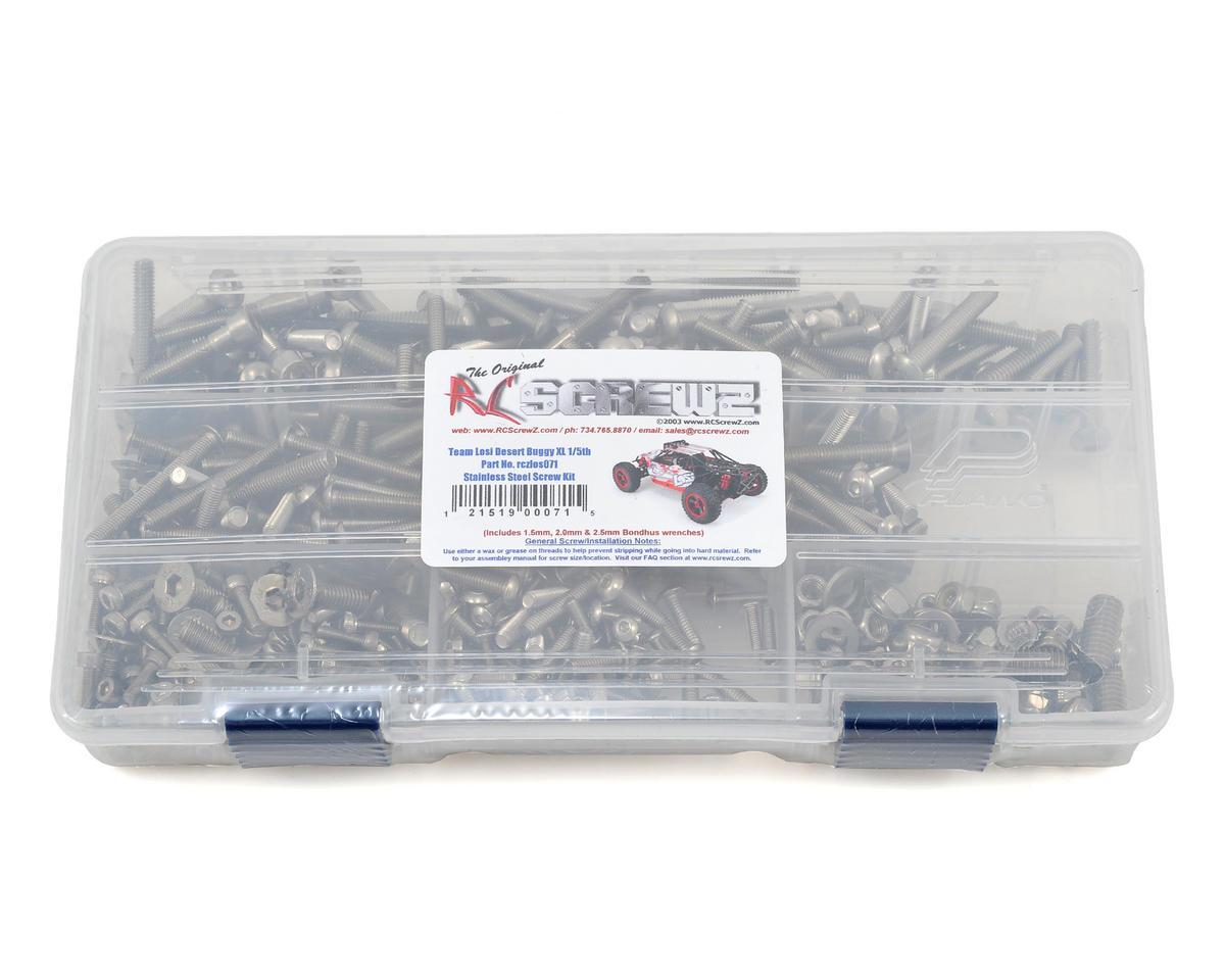 RC Screwz Losi Desert Buggy XL 1/5th RTR Stainless Steel Screw Kit