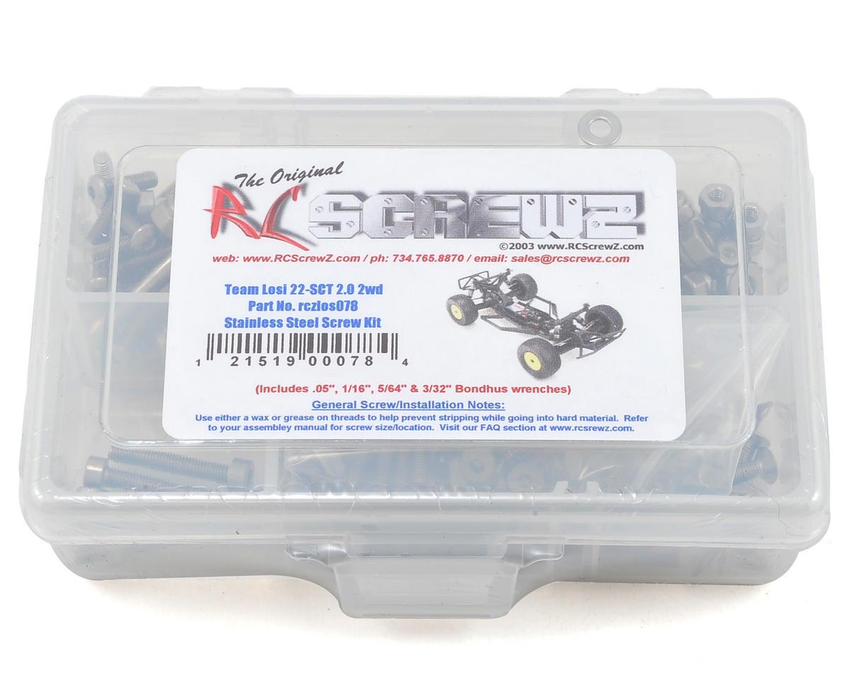 RC Screwz Losi 22-SCT 2.0 2wd Stainless Steel Screw Kit