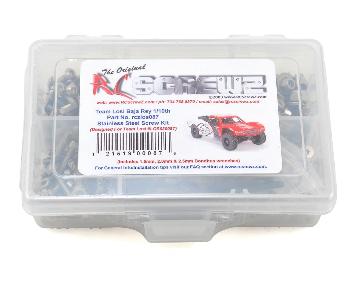RC Screwz Team Losi Baja Rey Stainless Steel Screw Kit