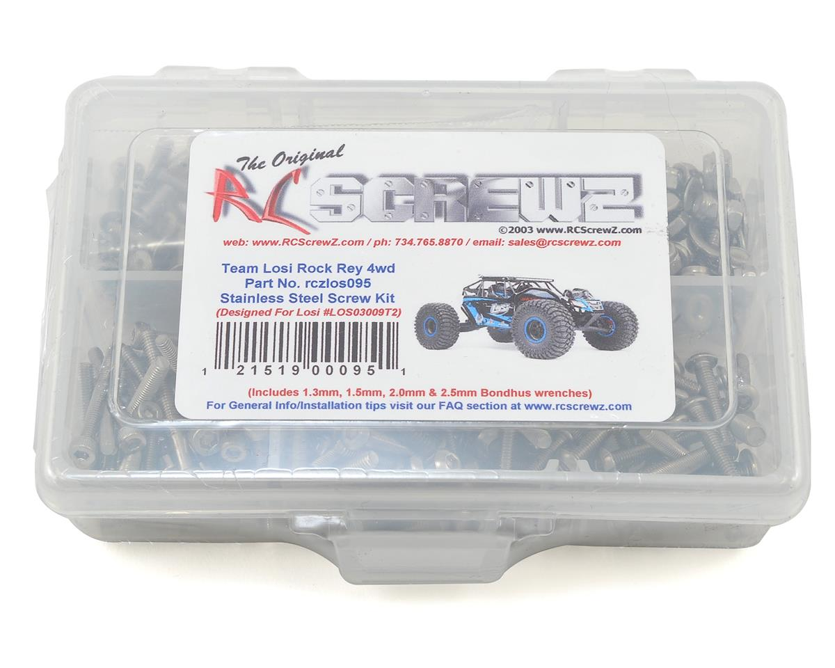 RC Screwz Losi Rock Rey Stainless Steel Screw Kit