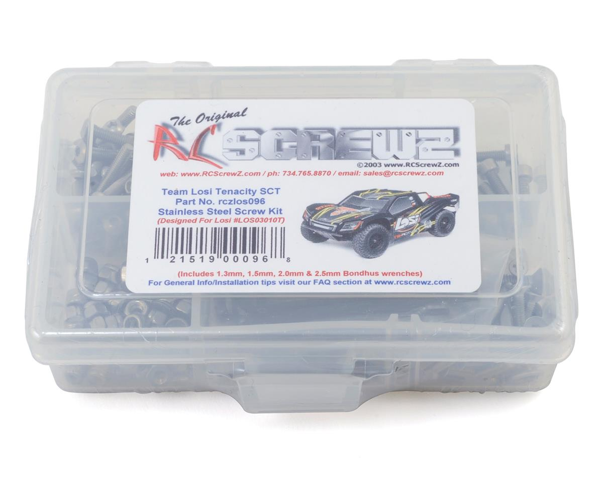 Team Losi Tenacity SCT Stainless Steel Screw Kit by RC Screwz