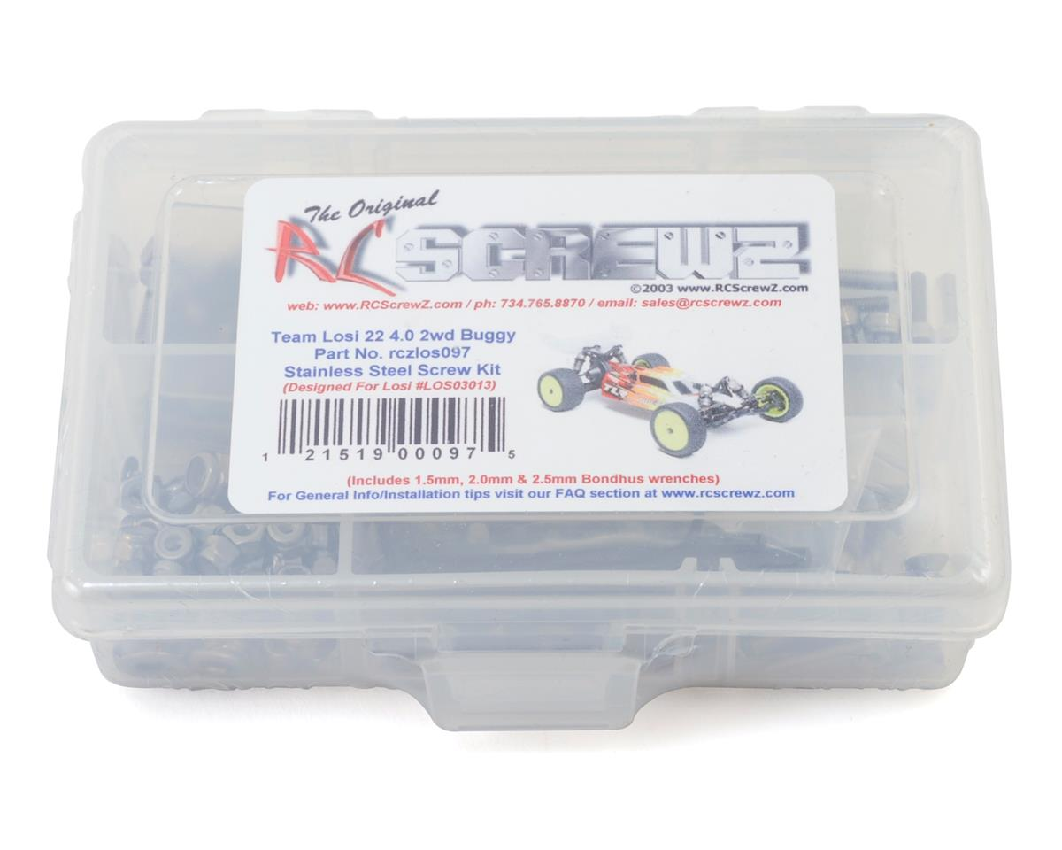 RC Screwz Team Losi 22 4.0 2wd Stainless Steel Screw Kit