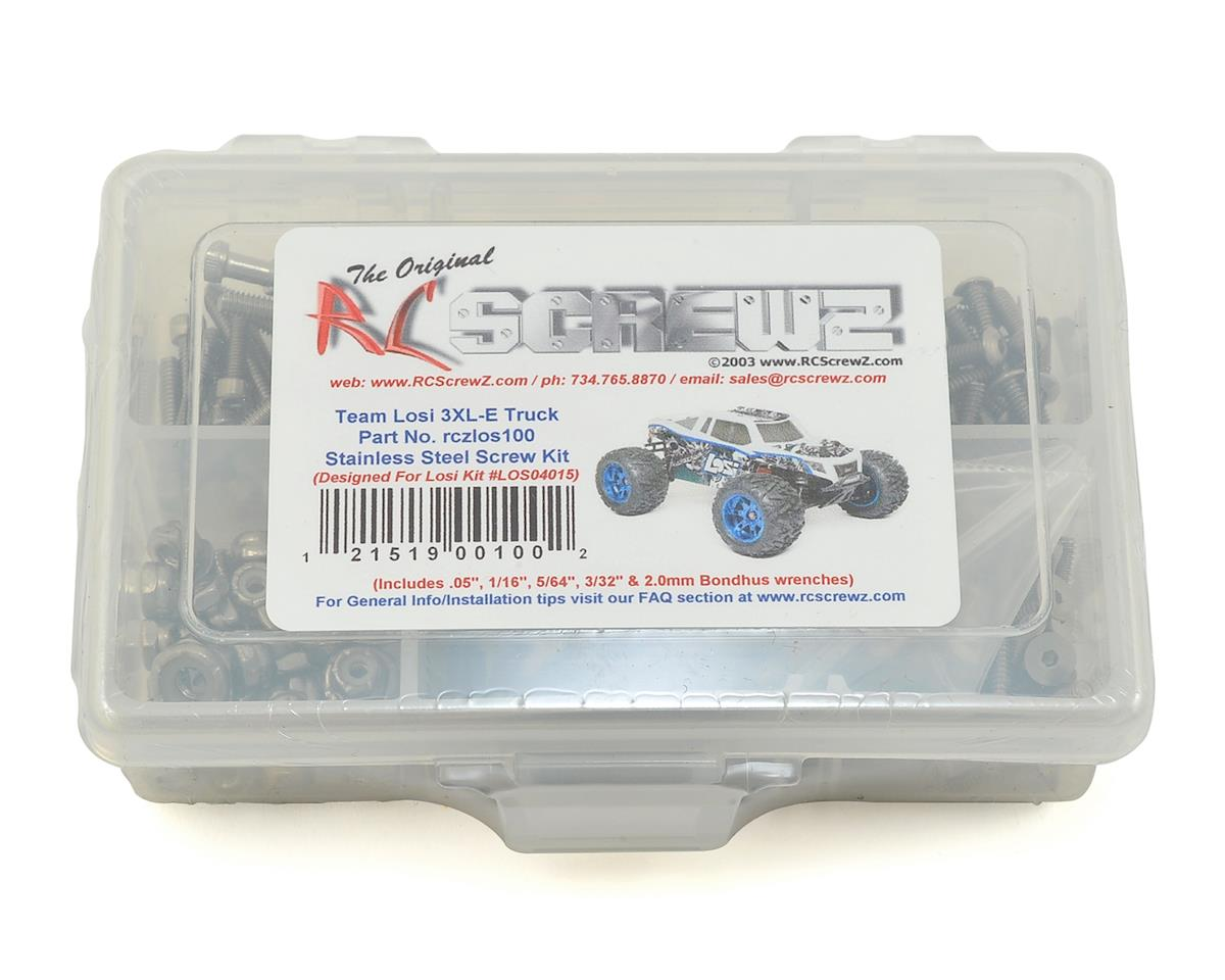 Team Losi LST 3XL-E Stainless Steel Screw Kit by RC Screwz