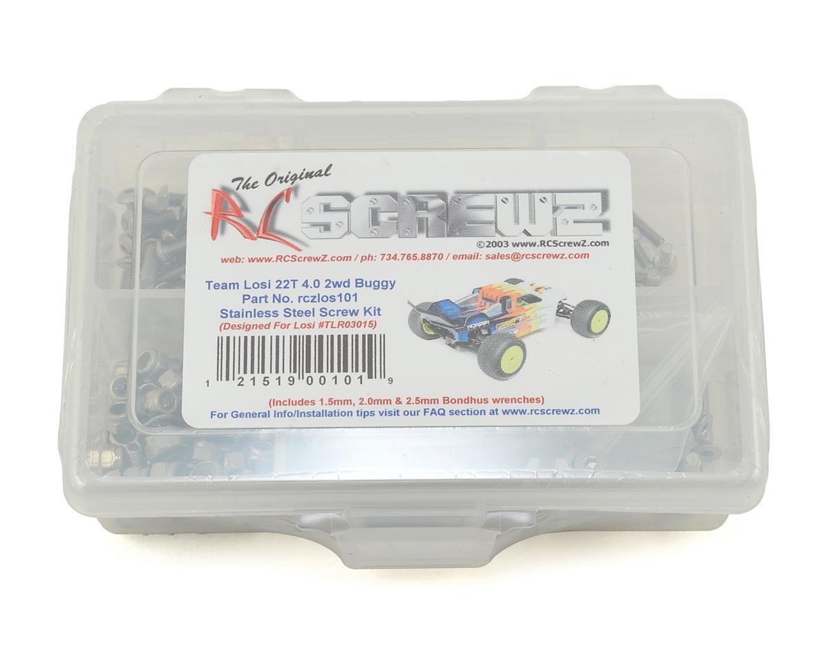 RC Screwz Team Losi 22-T 4.0 Stainless Steel Screw Kit