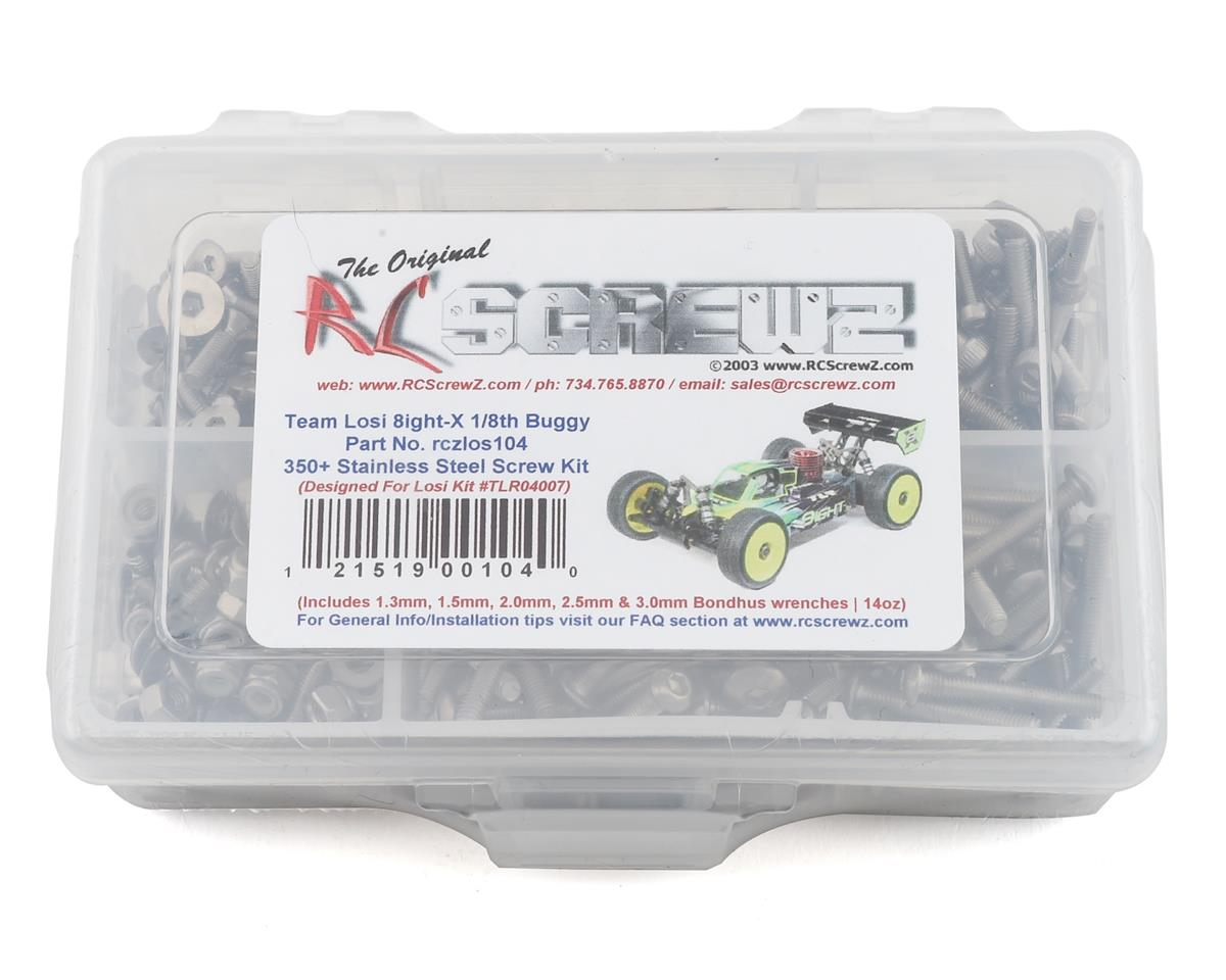 RC Screwz TLR 8IGHT-X Stainless Steel Screw Kit