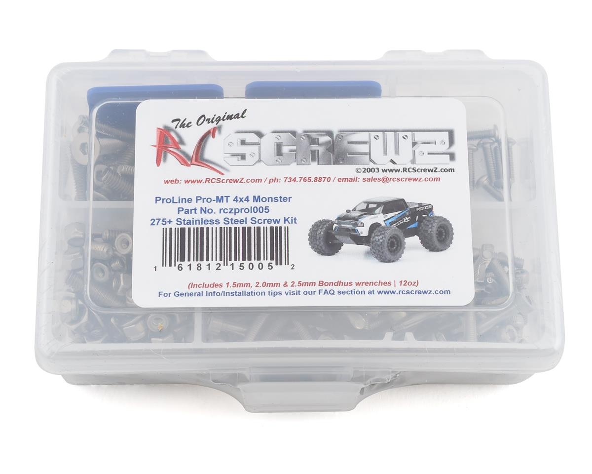 RC Screwz PRO-MT 4x4 Stainless Steel Screw Kit