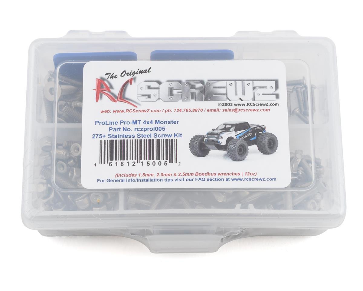 RC Screwz PRO-MT 4x4 Stainless Steel Screw Kit
