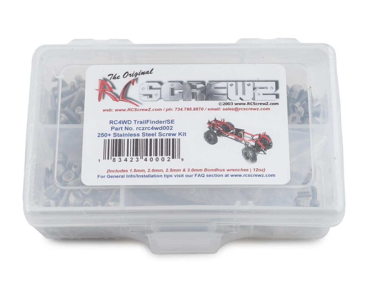 RC Screwz RC4WD Trail Finder SE Stainless Steel Screw Kit