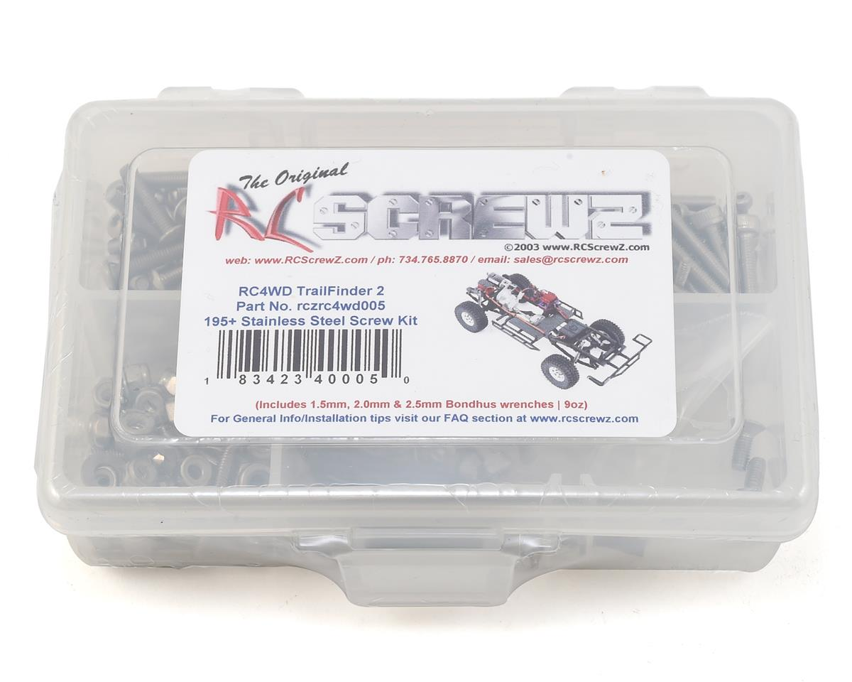 RC4WD Trail Finder II Stainless Steel Screw Kit by RC Screwz