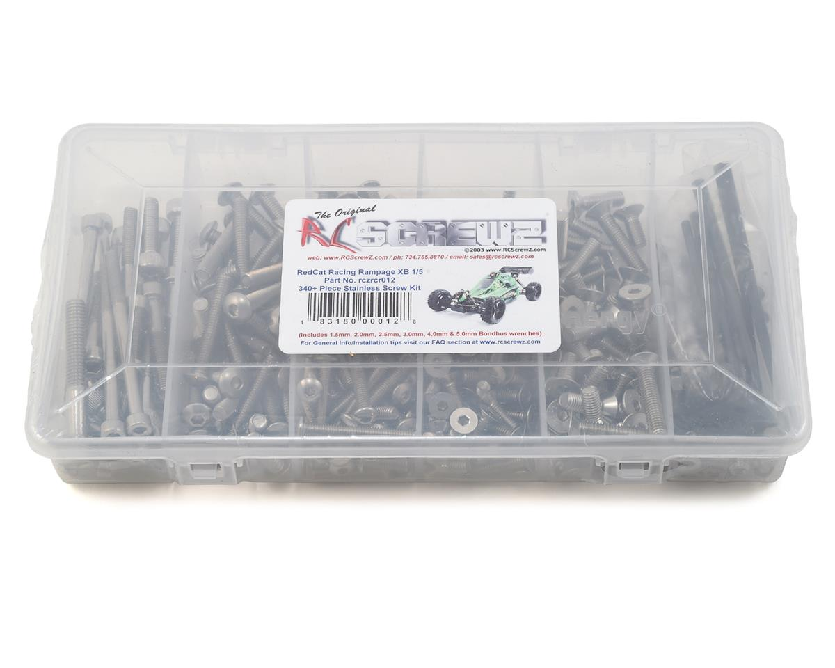 RC Screwz RedCat Racing 1/5th Rampage XB Stainless Steel Screw Kit