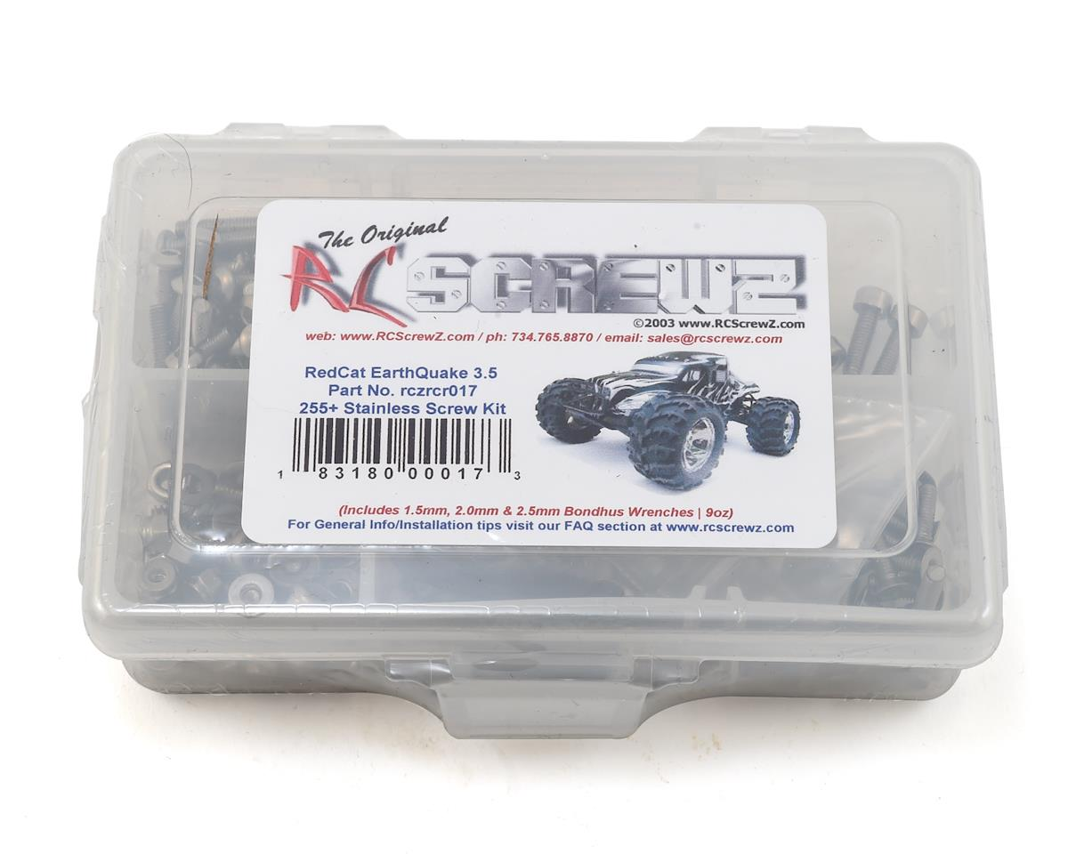 RedCat Racing Earthquake 3.5 Stainless Steel Screw Kit by RC Screwz