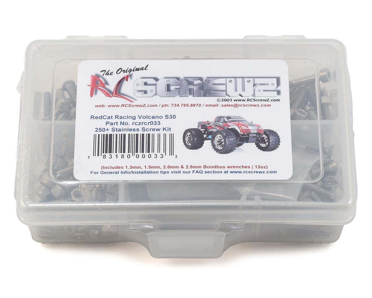 RC Screwz RedCat Racing Volcano S30 Stainless Steel Screw Kit