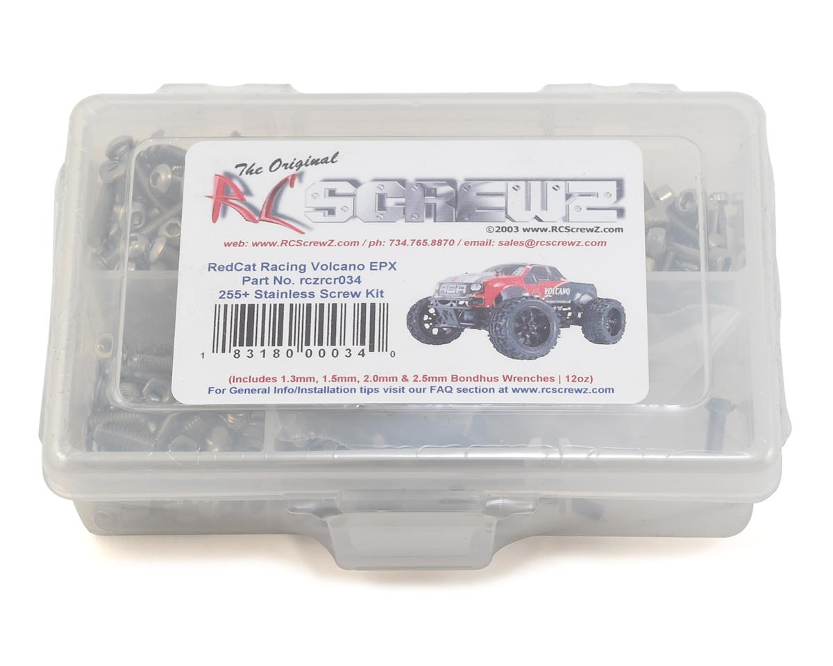 RC Screwz RedCat Racing Volcano EPX Stainless Steel Screw Kit