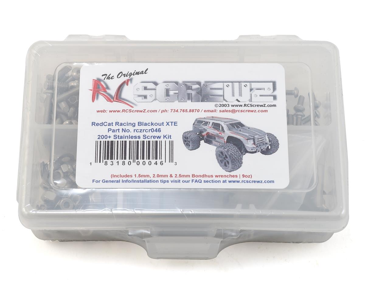 RC Screwz RedCat Racing Blackout XTE RTR/Pro Stainless Steel Screw Kit