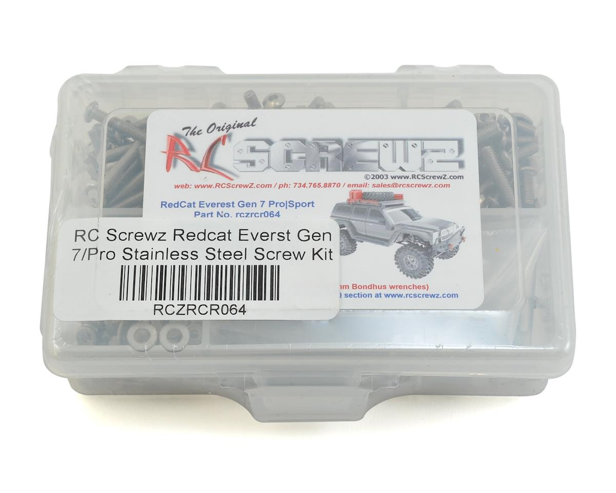 RC Screwz Redcat Everst Gen 7/Pro Stainless Steel Screw Kit