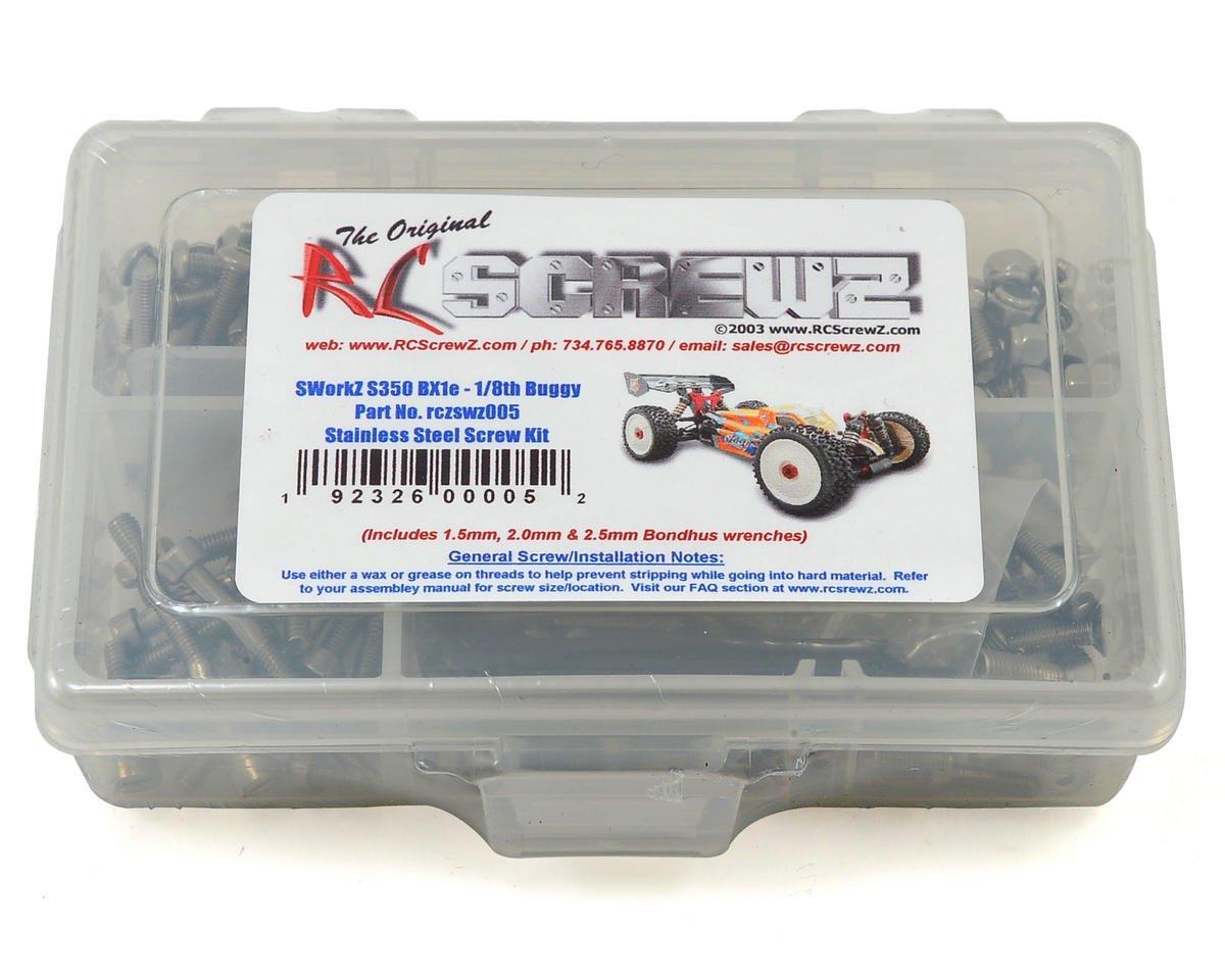 RC Screwz Sworkz S350 BX1e 1/8 Buggy Stainless Steel Screw Kit