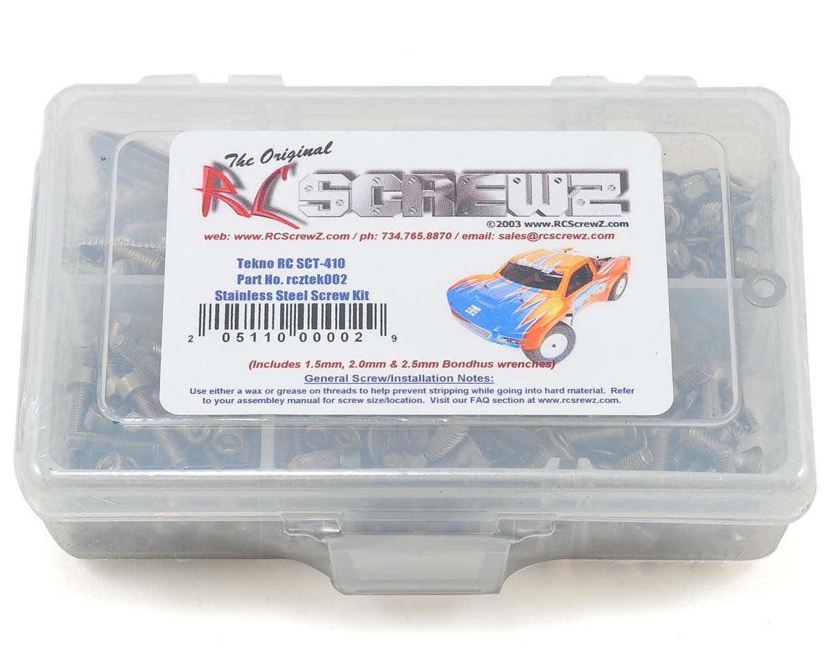 Tekno SCT410 Stainless Steel Screw Kit by RC Screwz