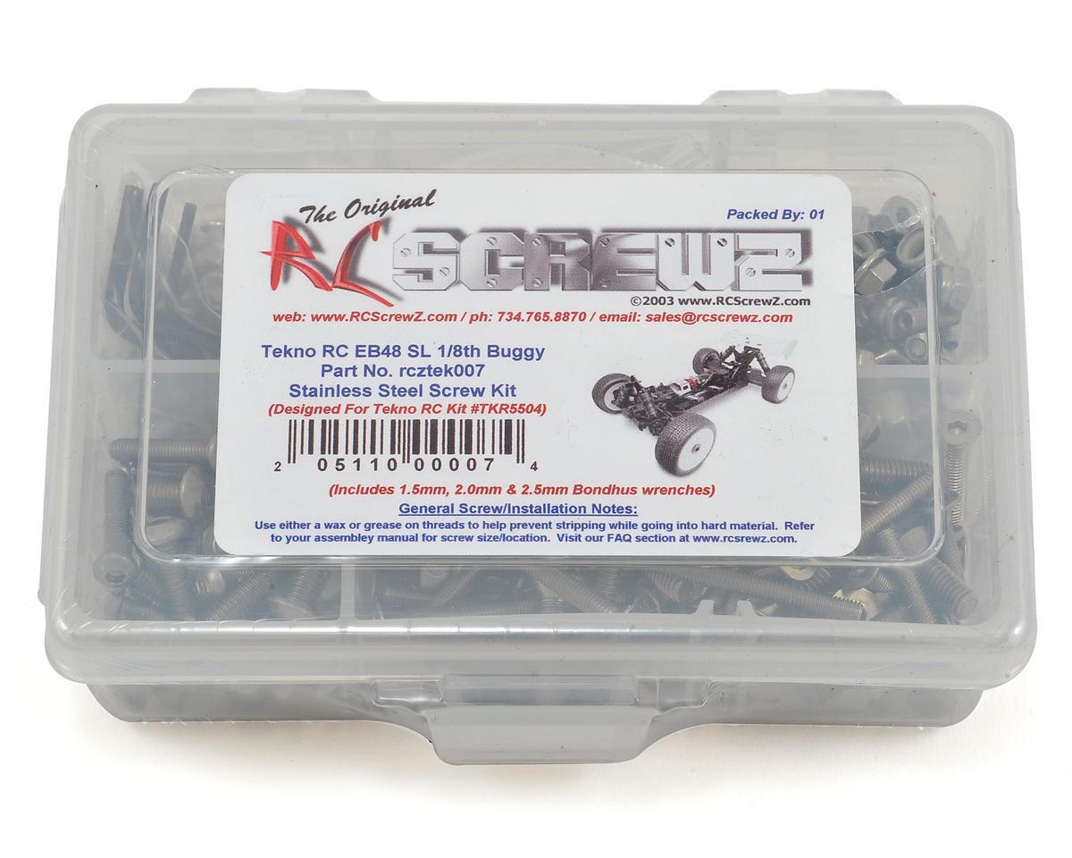 RC Screwz Tekno RC EB48SL 1/8 Buggy Stainless Screw Kit