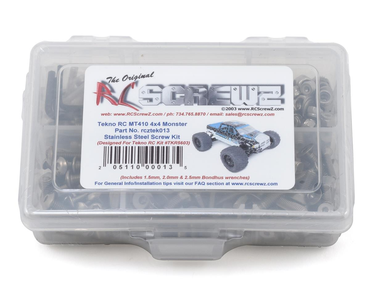 RC Screwz Tekno RC MT410 4x4 Stainless Steel Screw Kit