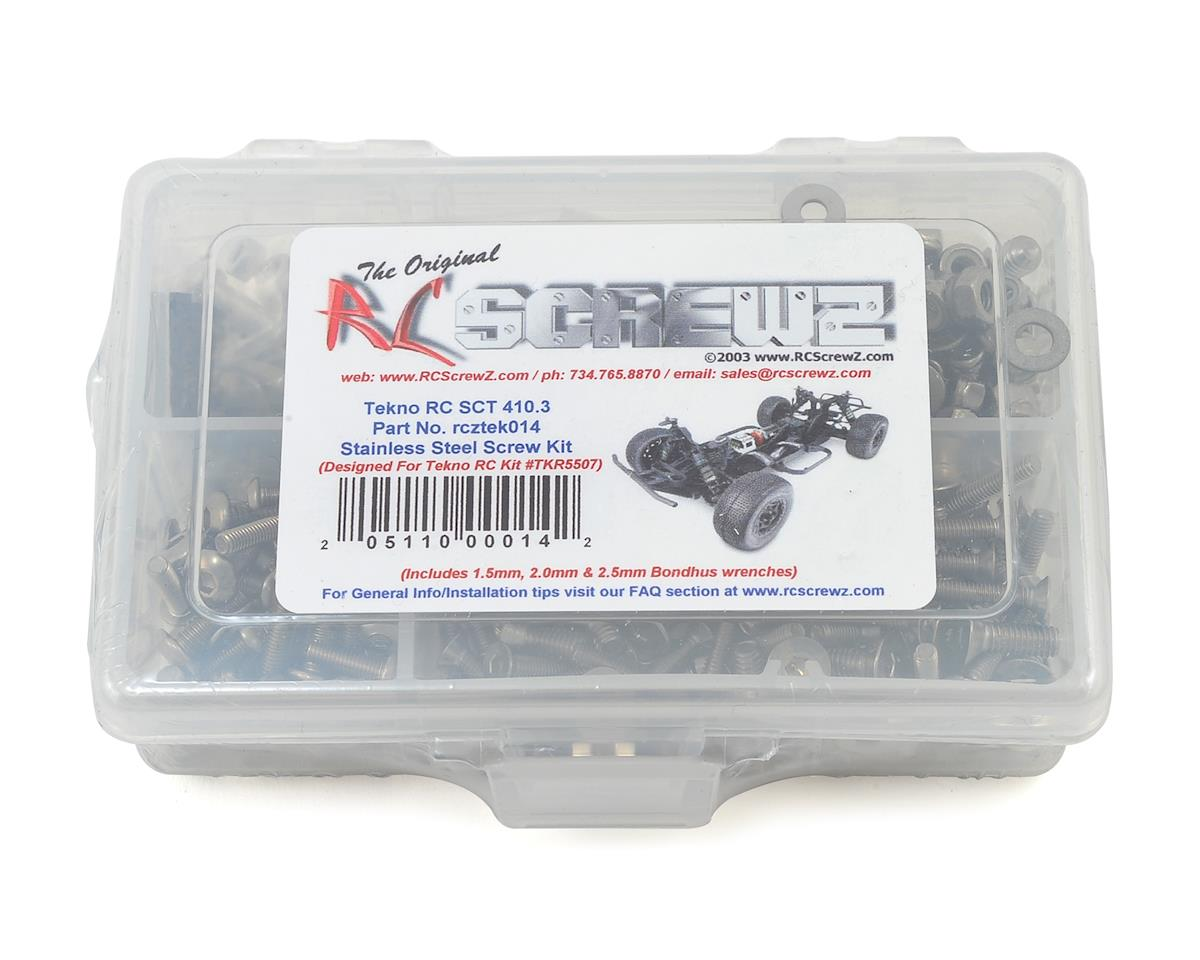 RC Screwz SCT410.3 Stainless Steel Screw Kit