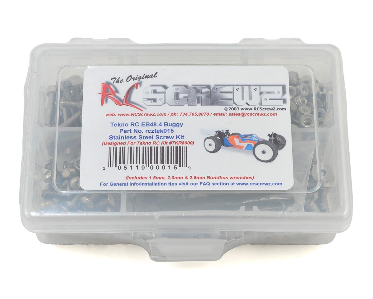 EB48.4 Buggy Stainless Steel Screw Kit by RC Screwz