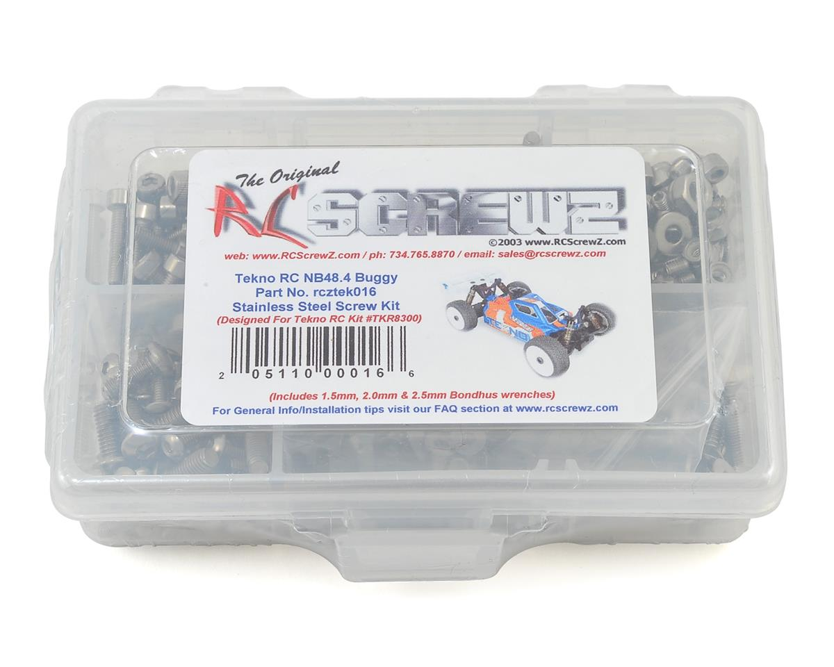NB48.4 Buggy Stainless Steel Screw Kit by RC Screwz