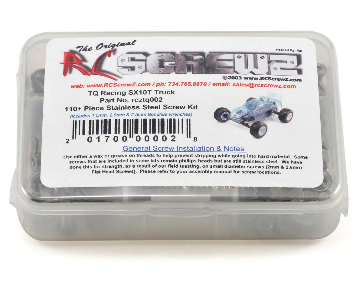 RC Screwz TQ Racing SuperCross 10 Truck Stainless Steel Screw Kit