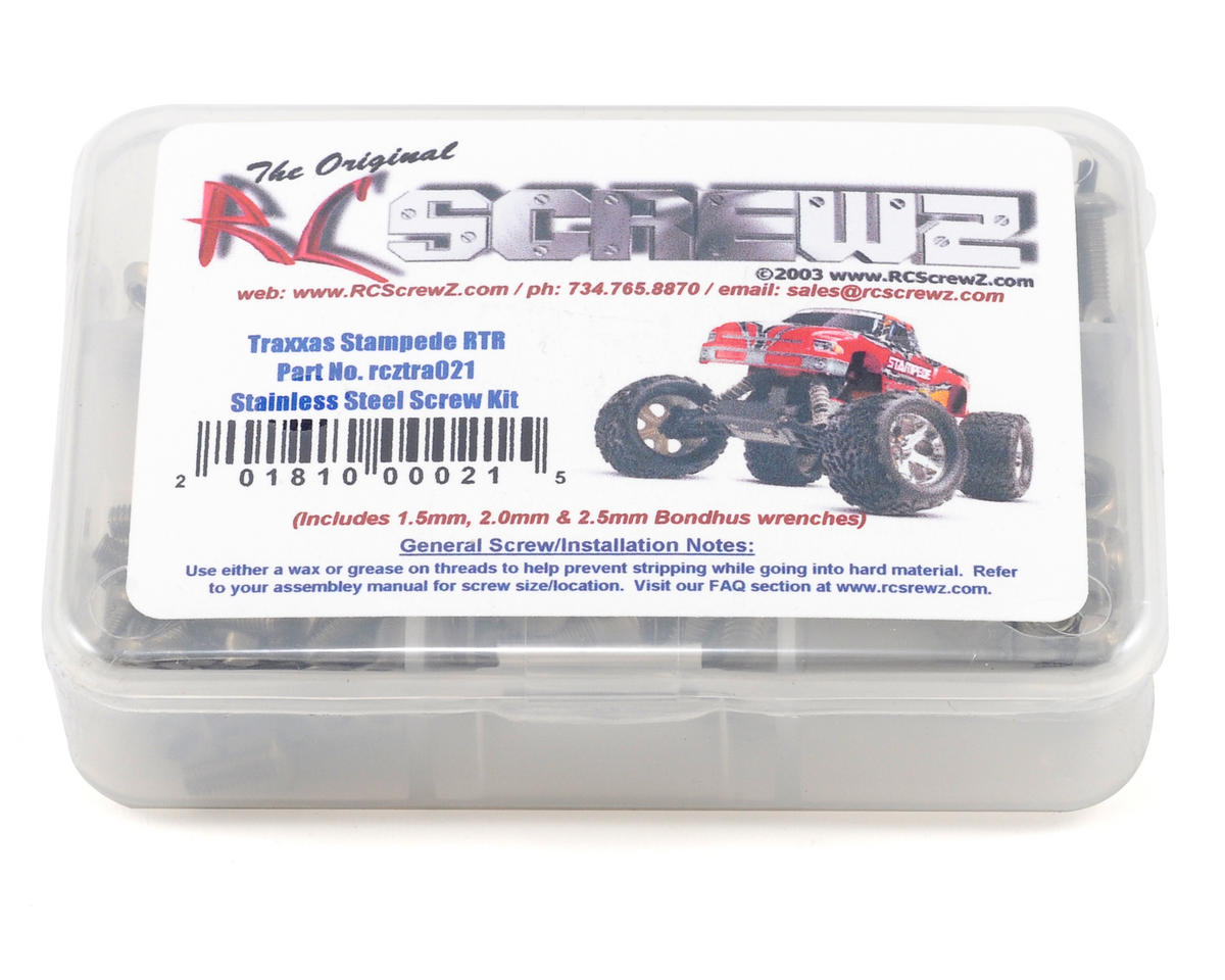 Traxxas Stampede XL5 Stainless Steel Screw Set by RC Screwz