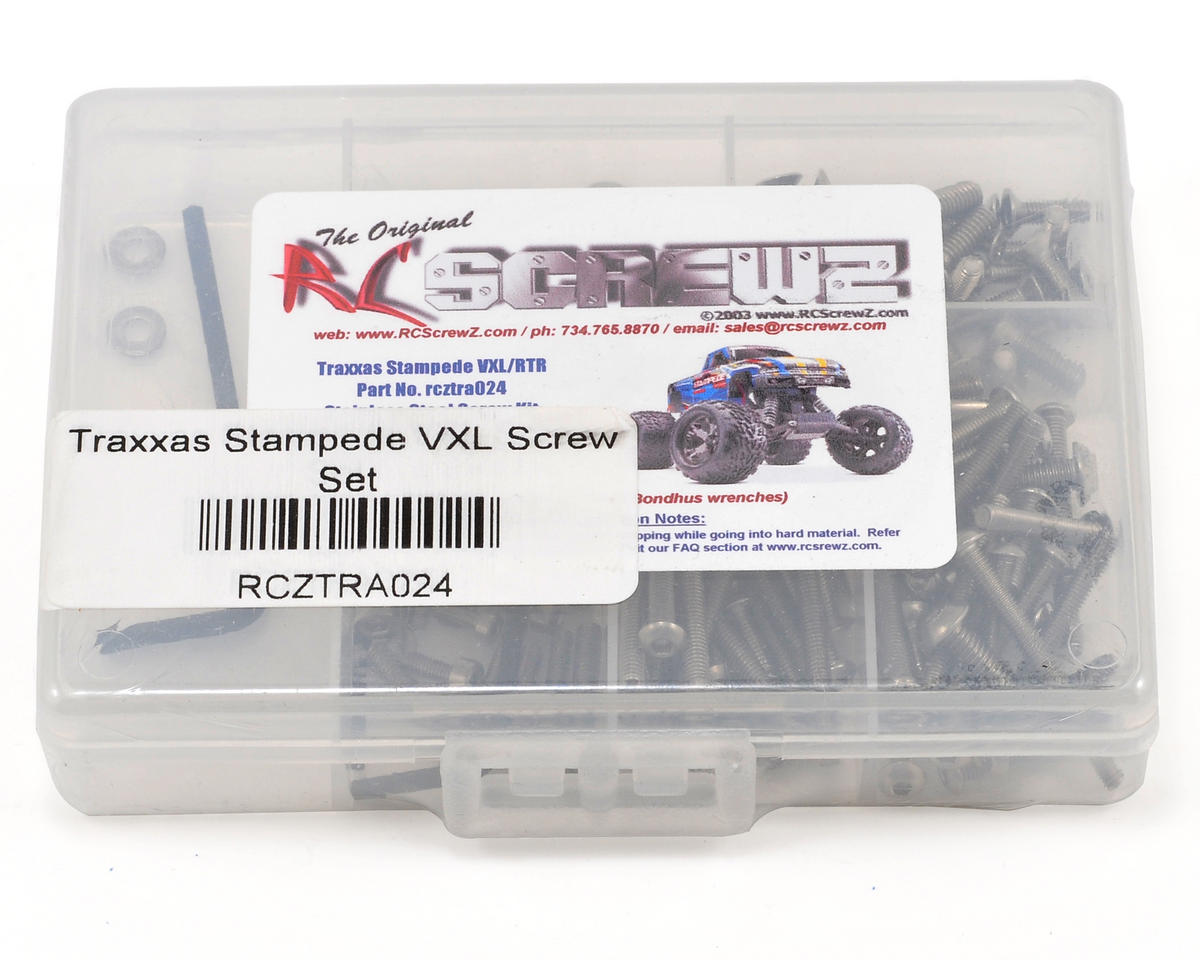RC Screwz Traxxas Stampede VXL Screw Set