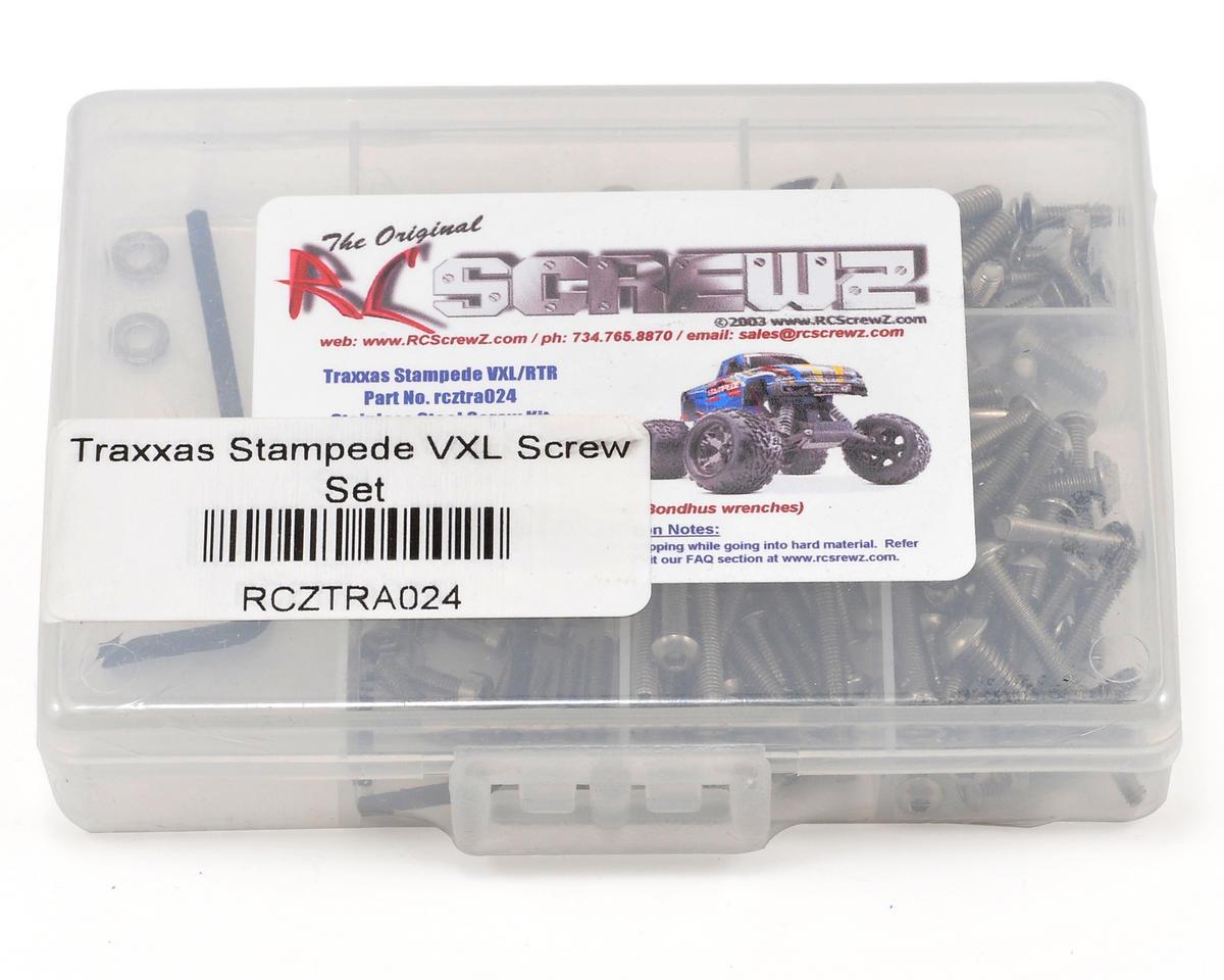 RC Screwz Traxxas Stampede VXL Screw Set