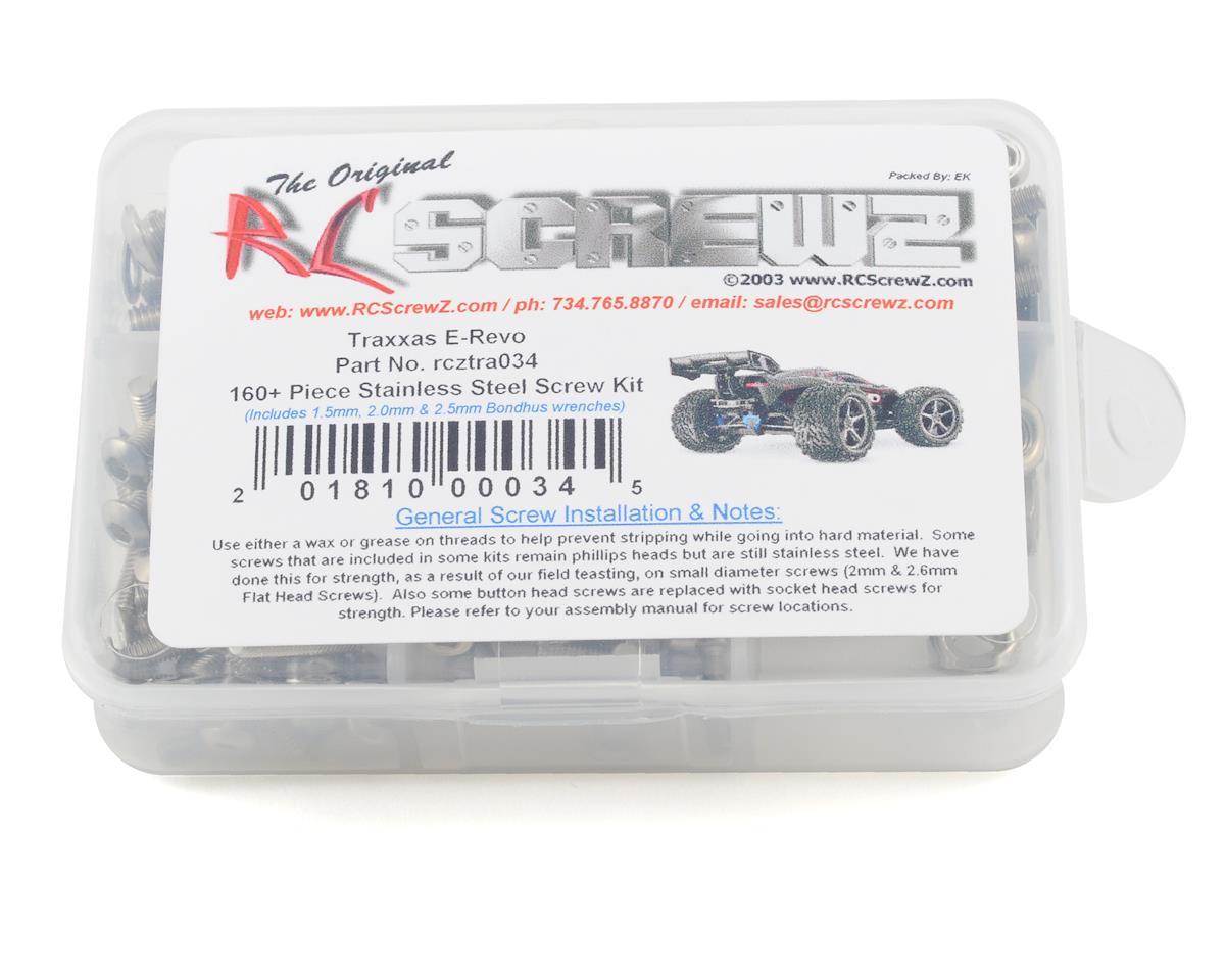 RC Screwz Traxxas E-Revo Stainless Steel Screw Kit