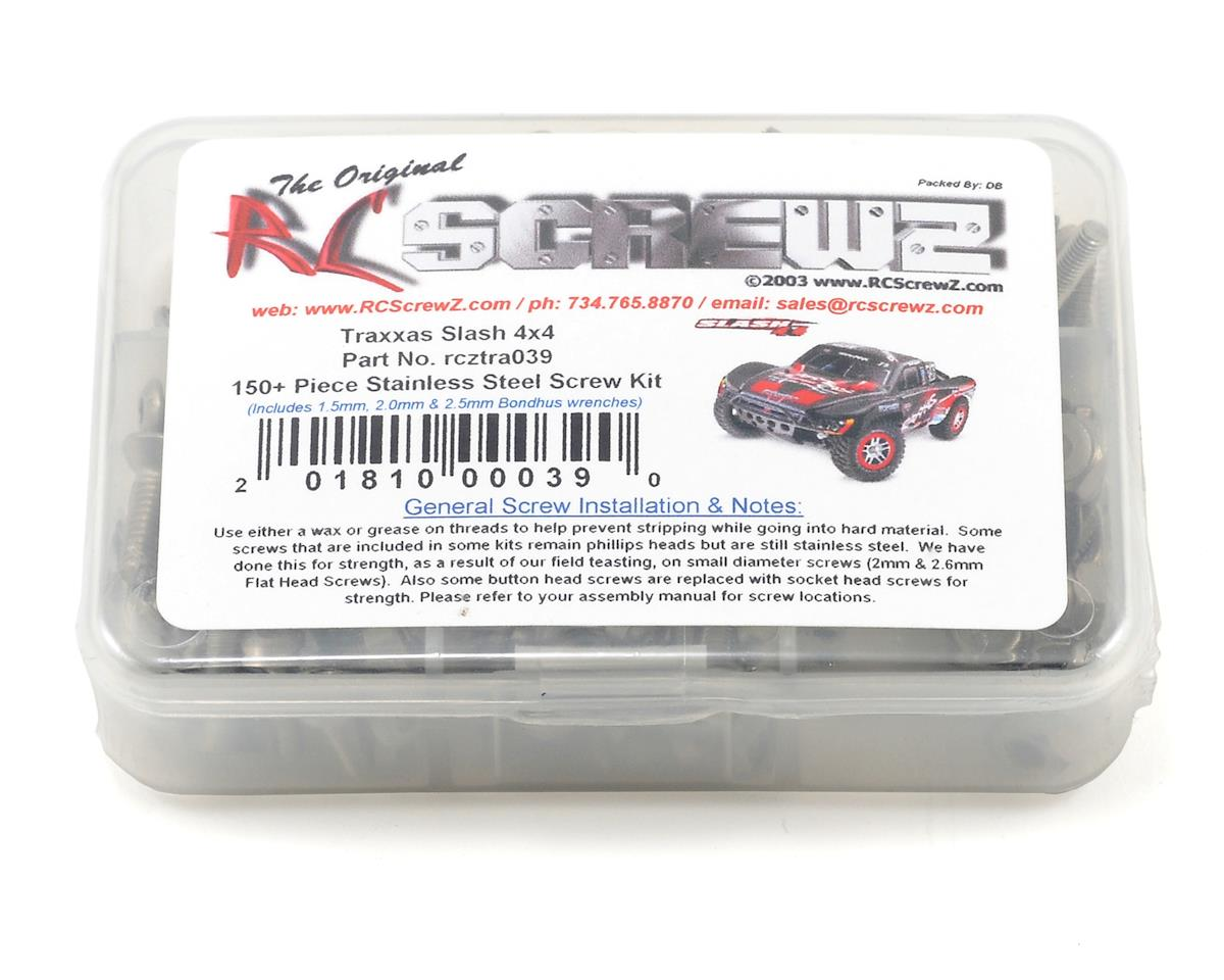 Traxxas Slash 4x4 Stainless Steel Screw Kit by RC Screwz