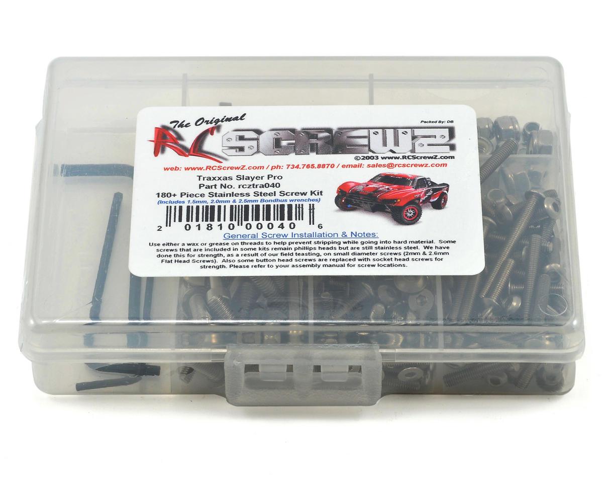 RC Screwz Traxxas Slayer Pro Stainless Steel Screw Kit